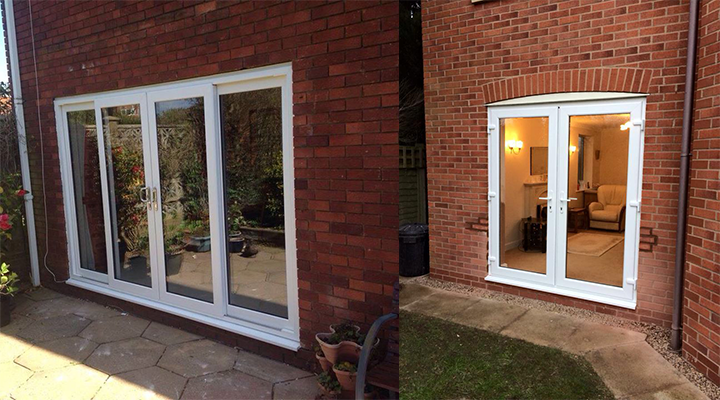 Upvc French Doors Pvcu Direct Walsall Cannock West Midlands