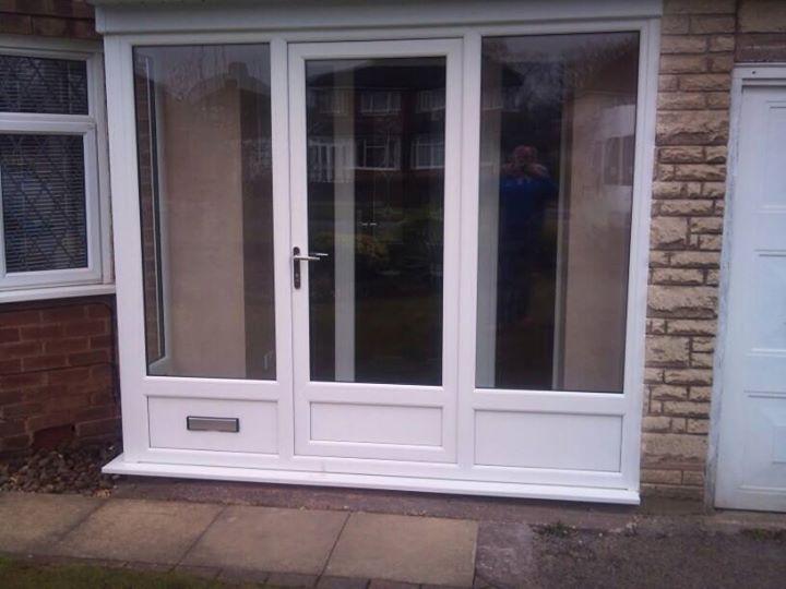 white sliding patio door & Double Glazing   uPVC Windows   Walsall   Cannock   West Midlands