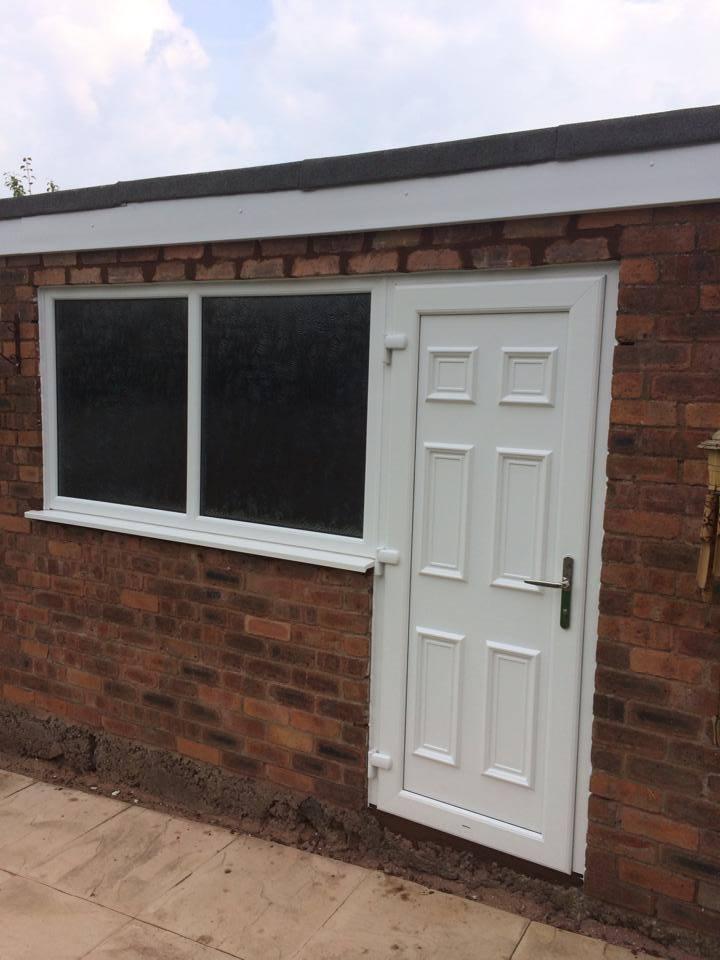 Pvcu door gallery walsall cannock west midlands for Upvc garage doors