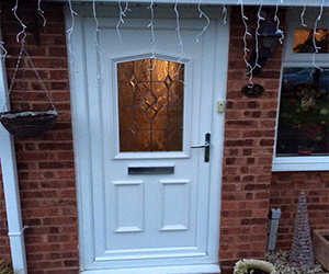 cantebury white upvc door