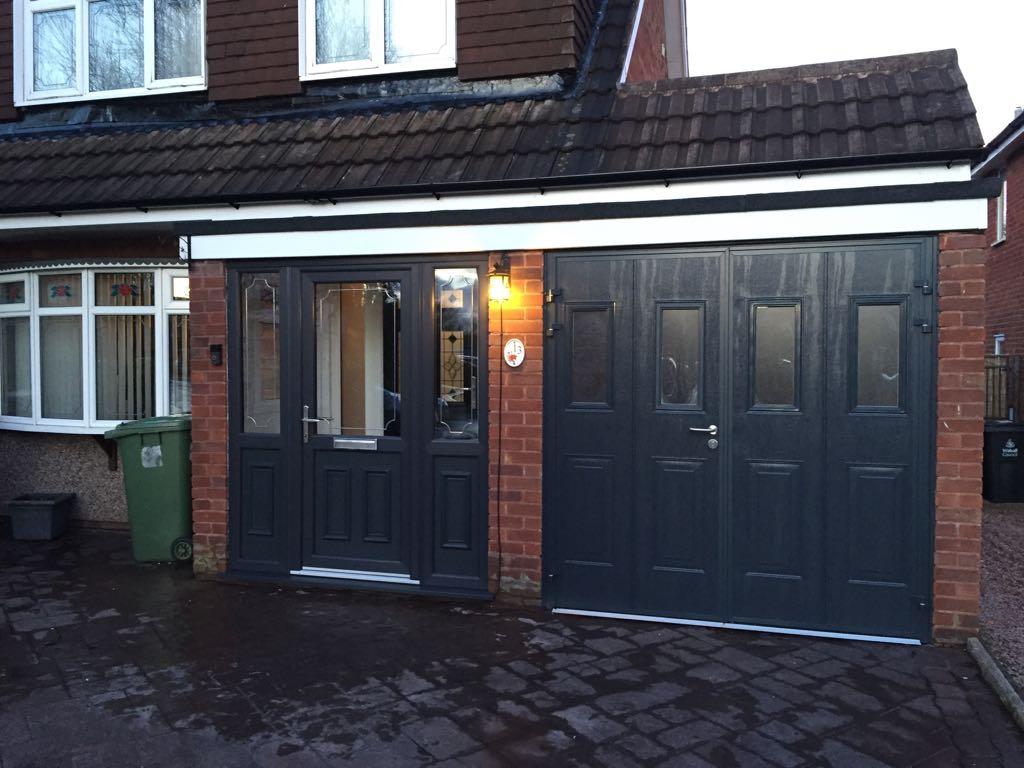 cantebury white upvc door & PVCu Door Gallery   Walsall   Cannock   West Midlands