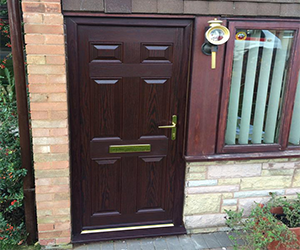 oxford inverted mahogany upvc door